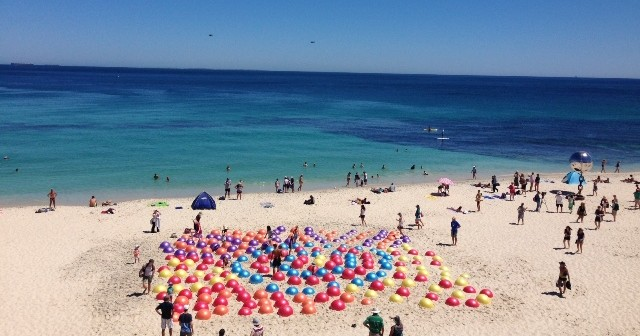 International Women's Day at Sculpture by the Sea Cottesloe