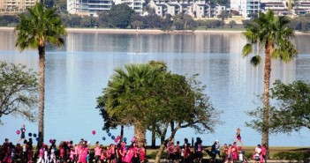 No rest for mother's  (Mother's Day Classic Run Perth 2015)