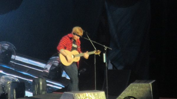 Ed Sheeran Perth Concert with Missy Higgins